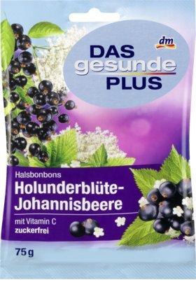 El saludable Plus Cuello Caramelos Sambucus flor de grosella ...
