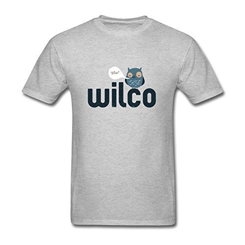 GNZGUYJR Wilco Star Wars Men's T-Shirts