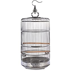 Prevue Pet Products Prevue Pet Products Dynasty Stainless Steel Bird Cage 152, Stainless Steel