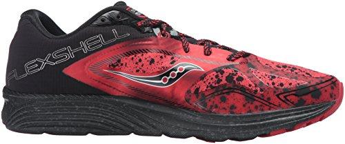 Saucony - Kinvara 7 Runshield Chaussures de running pour hommes (rouge/noir) - EU 47 - US 12,5