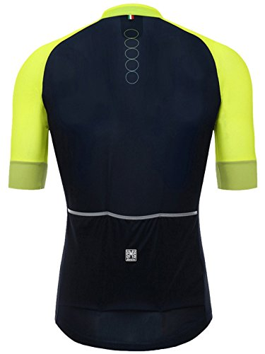Santini-Yellow-2018-Airform-30-Short-Sleeved-Cycling-Jersey