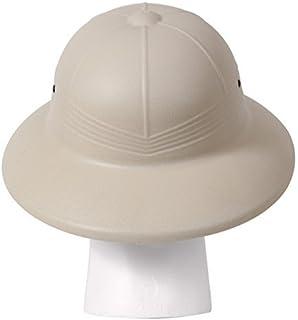 af34a40a Amazon.com: French Army Tropical Pith Helmet in British Khaki: Clothing