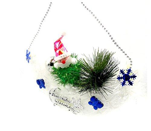 Mistletoe Ball Pendant (Leoy88 Christmas Tree Hanging Santa Claus Pendant Party Decoration Ornaments Xmas (Random))