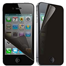 GummyCase Apple iPhone 4/4S Clear Transparent Tinted Privacy Anti-Spy Screen Protector Cover Film for Apple iPhone 4/4S