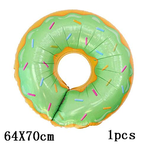 1 Set Donuts Party Tableware Decoration Donuts Paper Cup Cake Box Plate Banner Dessert Gift Party Birthday Balloon Candy Decor - Rock House Patrick Star