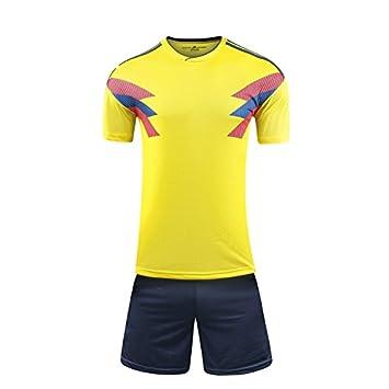 GDSQ 2018 Colombia Uniforme De Fútbol De La Copa del Mundo Colombiano Ventila La Versión De