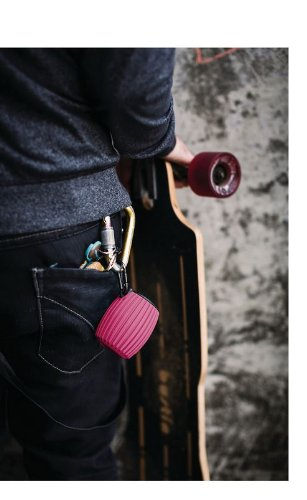 Philips SBT30PNK/27 SoundShooter Wireless Portable Speaker (Pink)
