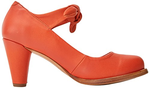 Beba Suave Zapatos para Mujer Naranja Tobillo S938 Neosens con Carrot Carrot y de Correa Tacon 14wtx5q