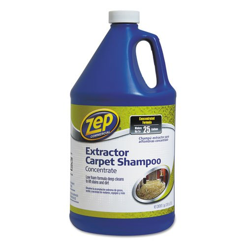- -- Carpet Extractor Shampoo, 1 gal Bottle