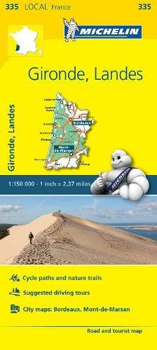 Gironde, Landes - Michelin Local Map 335 (Mapas Local Michelin)