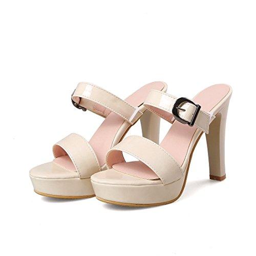 signore albicocca i super allacciati sandali moda tavola a i sandali sandali 32 sandali colore tacchi OrqBO