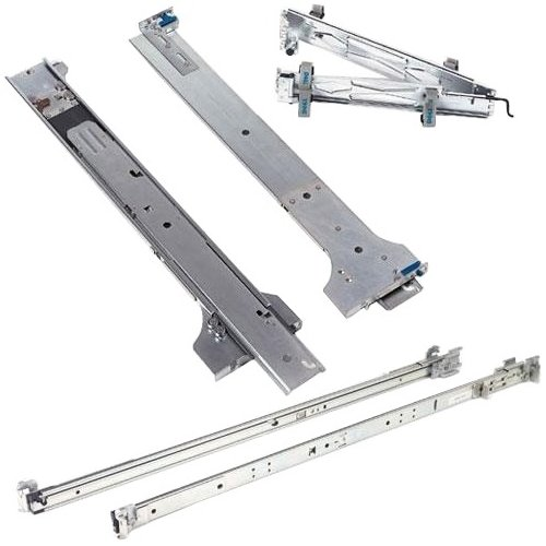 1U Static Rails 2/4-Post For R430 R630 Dell Computers 770-BBIC
