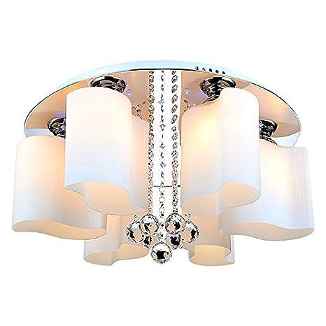 Lámpara de techo LED 5912 Cristal Pantalla bajo consumo ...