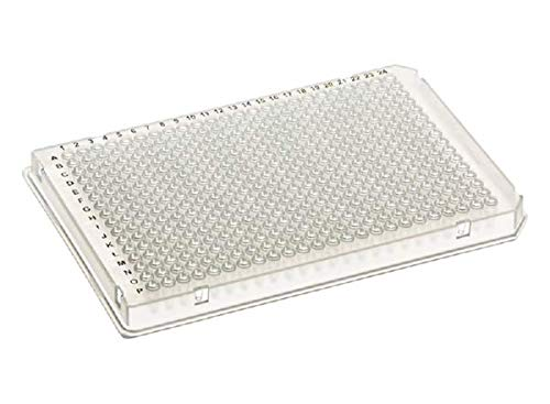 384 Well Skirted PCR Assay Plate with A24 and P24 Notch, White, for qPCR Reactions, 10/BX, 100/CS by SSI Bio