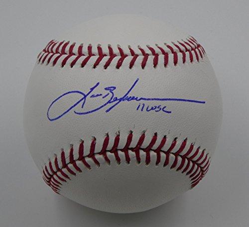 Signed Lance Berkman Baseball - 11 WSC ROMLB Baseballs - Autographed Baseballs