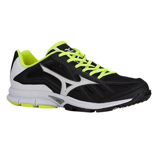 Mizuno Players Trainer Womens Fastpitch Training Shoe 5.5 Black-White ()