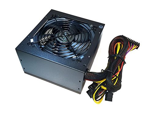 APEVIA ATX-VS500W Venus 500W ATX Power Supply with Auto-Thermally Controlled 120mm Fan, 115/230V Switch, All Protections by Apevia (Image #2)