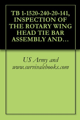 TB 1-1520-240-20-141, INSPECTION OF THE ROTARY WING HEAD TIE BAR ASSEMBLY AND ROTOR TACHOMETER ON ALL CH--47D, MH--47D AND MH--47E AIRCRAFT, (Rotor Wing Head)