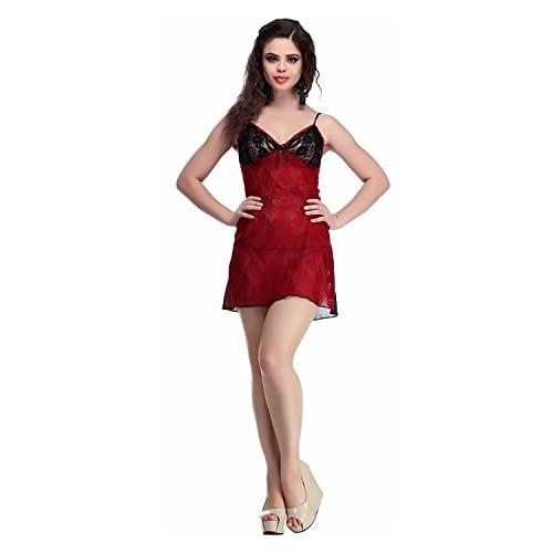 Miss Pixy Conjunto de lencería de mujer con ropa de dormir de moda de malla  suave ccb74b26083e