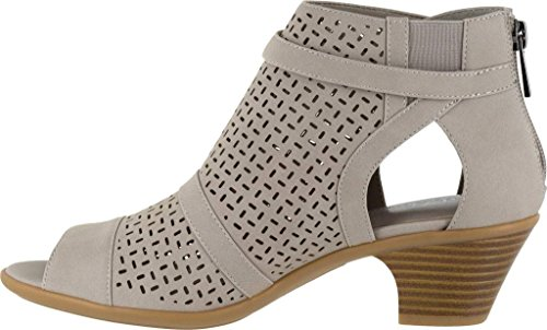 Easy Sandal Street Synthetic Women's Grey Carrigan Heeled T6pgqwFxp