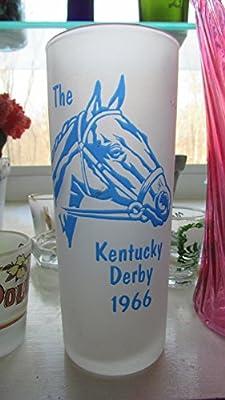 1966 Kentucky Derby Glass