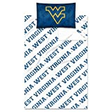 The Northwest Company Officially Licensed NCAA West Virginia Mountaineers Twin Sheet Set