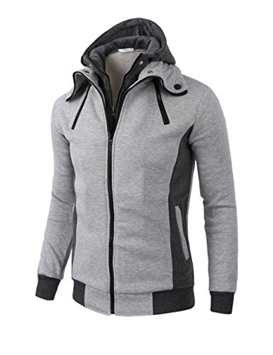 sweatshirt chimney collar - 6