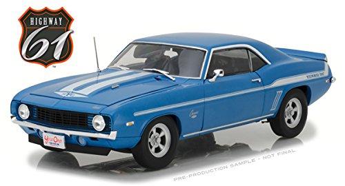 Yenko Camaro (Brian's 1969 Chevrolet Yenko Camaro 2 Fast 2 Furious Movie (2003) Driven by Paul Walker 1/18 Diecast Car Model by Highway 61 18001)