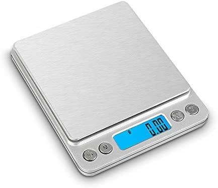 Bascula De Cocina LCD Digital Multifuncion De Alta Precision Balanzas De Cocina