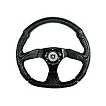 "Pro Armor (P081270) 13.5"" D-Shaped Assault Steering Wheel"