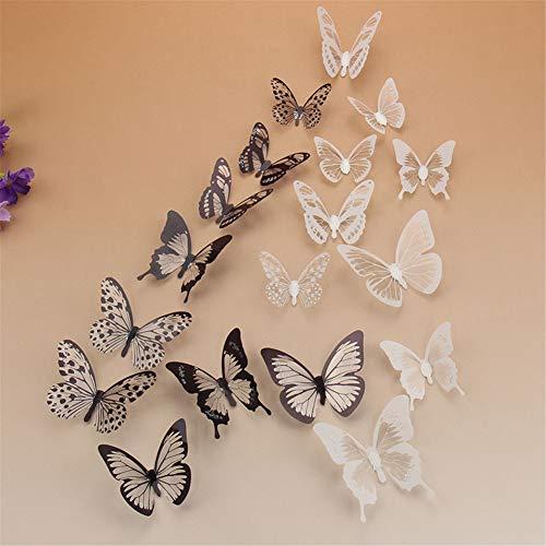 aooyaoo Stickers Butterflies Sticker Decoration