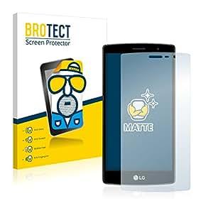 2x BROTECT Matte Protector Pantalla para LG G4s Protector Mate, Película Antireflejos