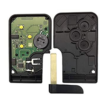 Amazon.com: MOJITO LIVING PTE 3 Button 433Mhz 7947 Chip With ...