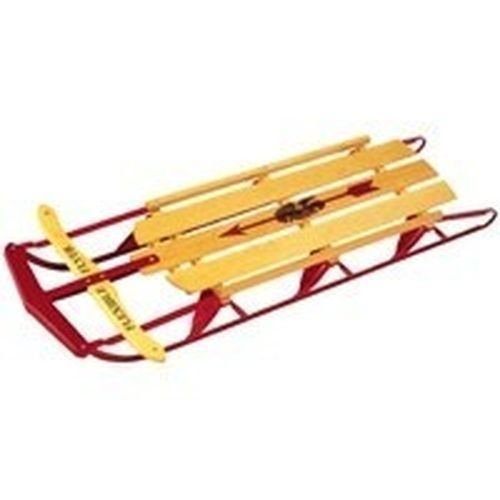 New Lot of (2) Paricon 1060 60'' Flexible Flyer Wood Runner Snow Sleds by Paricon