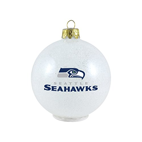 NFL Seattle Seahawks LED Color Changing Ball Ornament