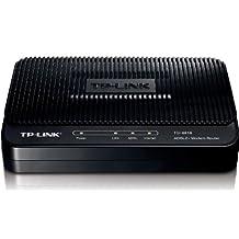 TP-Link TD-8816 ADSL2+ Modem Router, 1 RJ45, ADSL Splitter, 24Mbps Downstream, QoS, NAT firewall