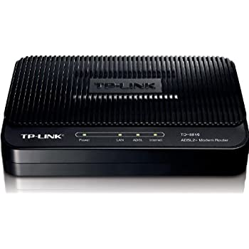 TP-Link ADSL2+ Wireless Wi-Fi Fast Ethernet Modem Router (TD-8816)
