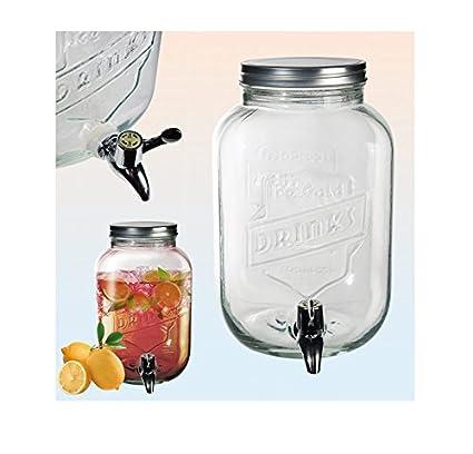 Dispensador de bebidas limonaden Depósito Cristal dispensador de zumo 3,5liter grifo