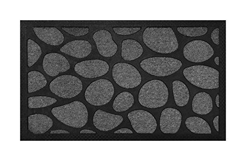 ir Doormat by Castle Mats, Size 17 x 29 inches, Non-Slip, Durable (Cobblestone Floor Mat)
