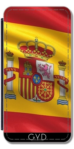 Funda de silicona para Samsung Galaxy Note 4 (N910) - Bandera De España by Carsten Reisinger Polipiel