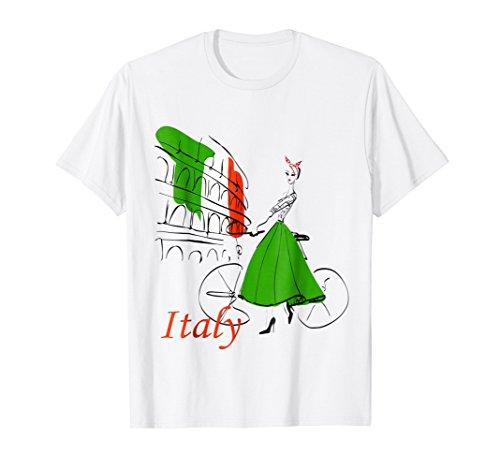 Italy Flag T-shirt - Italy t shirt, rome tshirt women,women