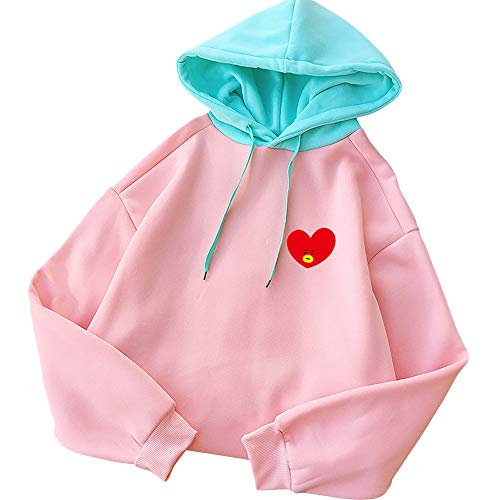 Kpop BTS Hoodie Love Yourself BT21 Sweatshirt Chimmy Cooky Tata Jacket Pullover Tops