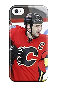 Muriel Alaa 8448785K909080922 calgary flames (12) NHL Sports & Colleges fashionable For Apple Iphone 4/4S Case Cover