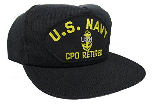 U.S. Navy CPO Retired Ballcap