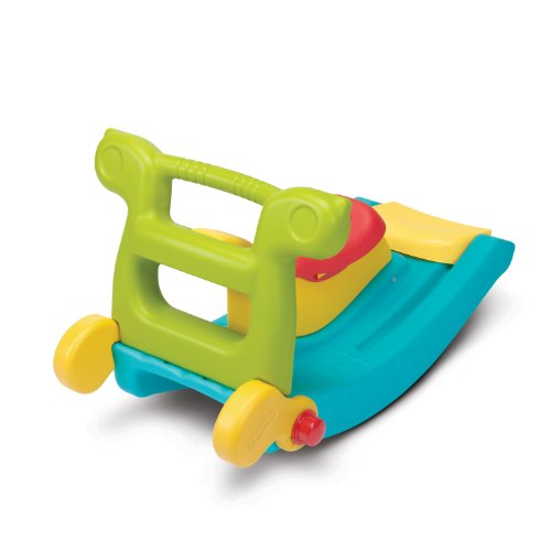 Fisher-Price Fun Slide 'n Rocker, Yellow/Blue