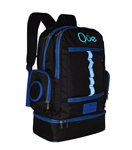 Que Powerbag Backpack Built In Charging Station