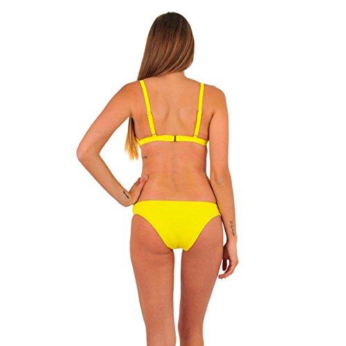 Mi Neopreno Bikini triángulo amarillo (top) Amarillo