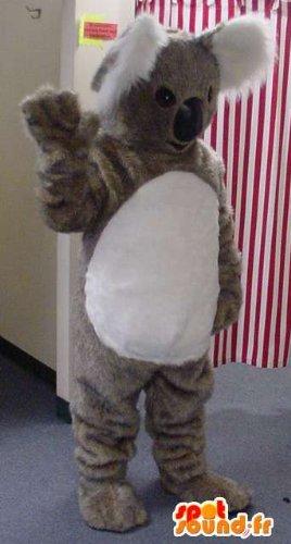 Mascota SpotSound Amazon personalizable koala gigante. Traje Koala ...