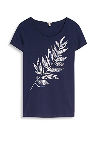 ESPRIT, Camiseta para Mujer Multicolor (Navy)
