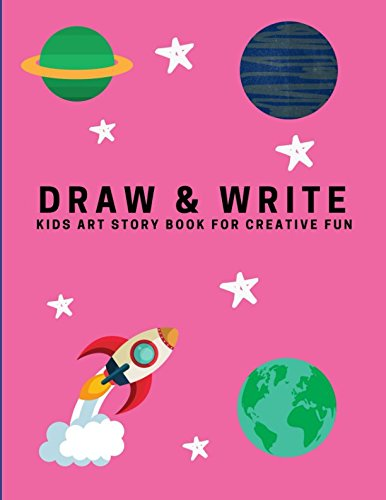 Download Draw and Write: Kids Art Story Book For Creative Fun, Fantastic Pink (Creative Writing for Kids) ebook